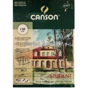 CANSON STUDENT BLOK RYS. FAKT. A4 150G 50A