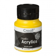 CREALL STUDIO ACRYLICS 500 ml primary yellow 06