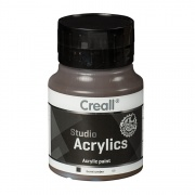 CREALL STUDIO ACRYLICS 500 ml burnt umber 69