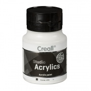 CREALL STUDIO ACRYLICS 500 ml white 81