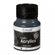 CREALL STUDIO ACRYLICS 500 ml black 99