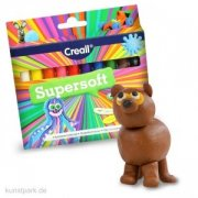 CREALL Supersoft - plastelina 10 x 12 g