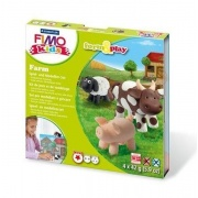 FIMO Kids Form&Play 4x25g - Farma
