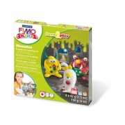 FIMO Kids Form&Play 4x25g - Potwory