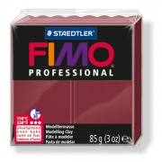 FIMO Professional 85 g - bordowa