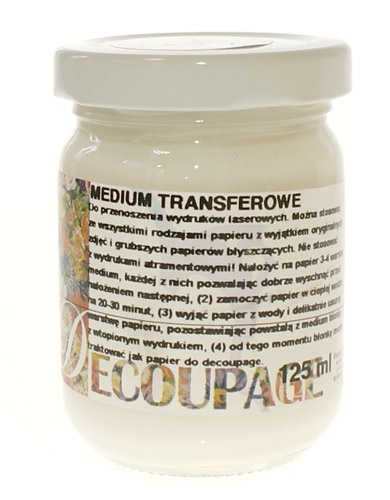 Medium transferowe do decoupage 125ml